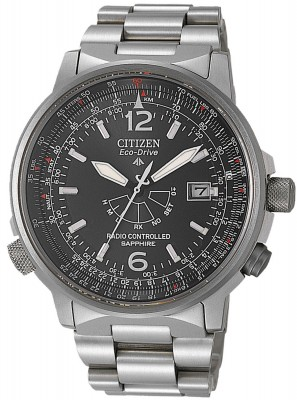 Citizen AS2031-57E Pilot Funkuhr