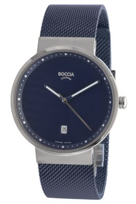 Boccia 3615-05 Titan-Armbanduhr mit Saphirglas