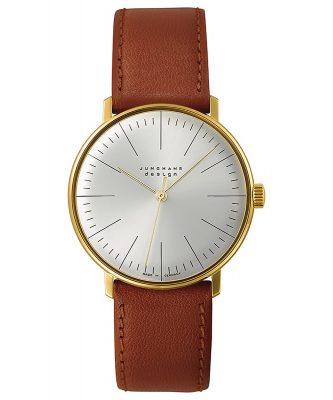 Junghans 027/5703.04 max bill Handaufzug Armbanduhr