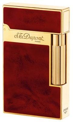 16133 Feuerzeug Linie 2 Laque Rouge