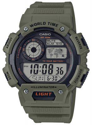 Casio AE-1400WH-3AVEF Digital-Armbanduhr