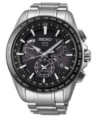 Seiko SSE077J1 Astron GPS Solar Dual Time Herrenuhr