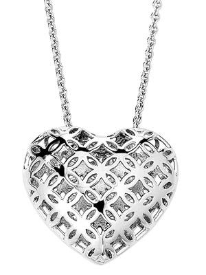 775422 Damen-Halskette mit Herzanhänger