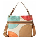 Fossil ZB5501 Explorer Hobo Handbag Dot