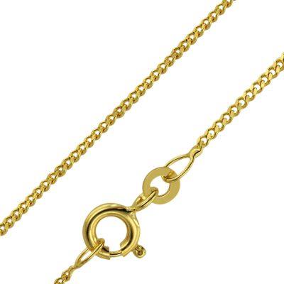 trendor 71958 Goldkette für Kinder 333 Gold (8 K) Länge 38/36 cm Breite 1,4 mm