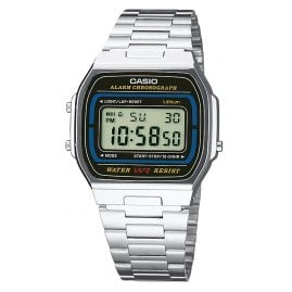 Casio A164WA-1VES Digital Alarm Chronograph