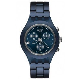 Swatch SVCN4004AG Full-Blooded Smoky Blue Chrono Watch