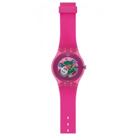 Swatch SUOP100 Pink Lacquered Damenuhr