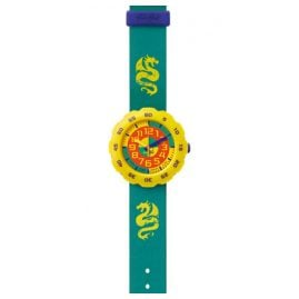 Flik Flak FPSP004 Pres-Cool Boy in Spring Green Kinderuhr