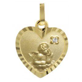 trendor 73518 Herz-Anhänger Gold