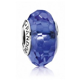 Pandora 791067 Muranoglas Charm Abstrakt Blau