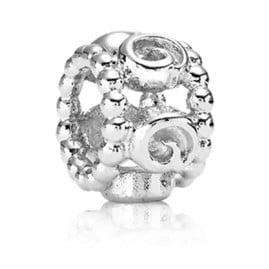 Pandora 790456 Zwischenelement Silber Abstrakte Rosen