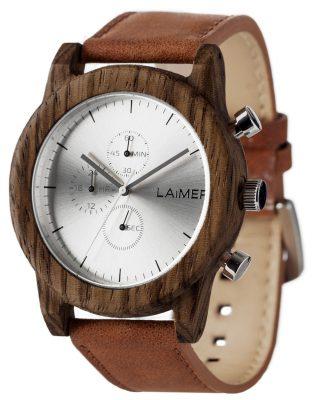 Laimer 0059 Herren-Holzuhr Chronograph Paul