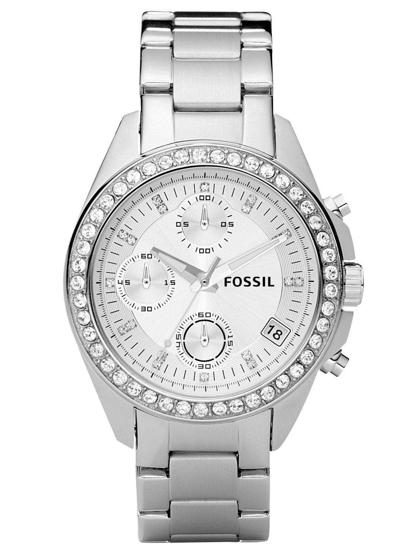 es2681 decker damen chronograph von fossil online kaufen armbanduhrenhaus. Black Bedroom Furniture Sets. Home Design Ideas