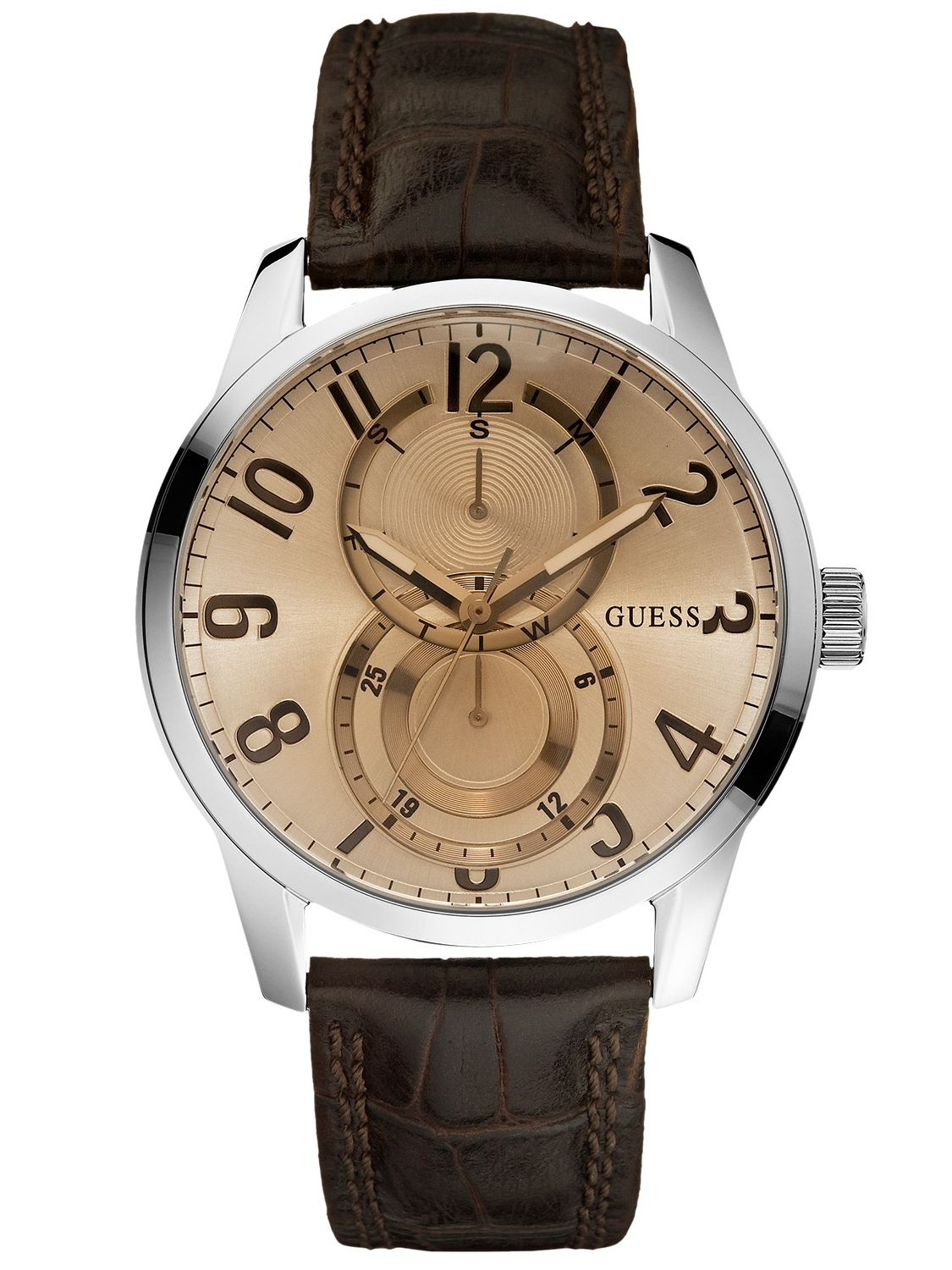 Guess W95127G2 Inner Circle Multifunktion Herrenuhr