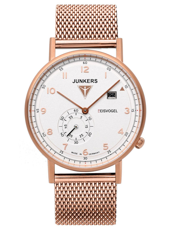 Junkers 6732-M4 Eisvogel F13 Quarz Armbanduhr