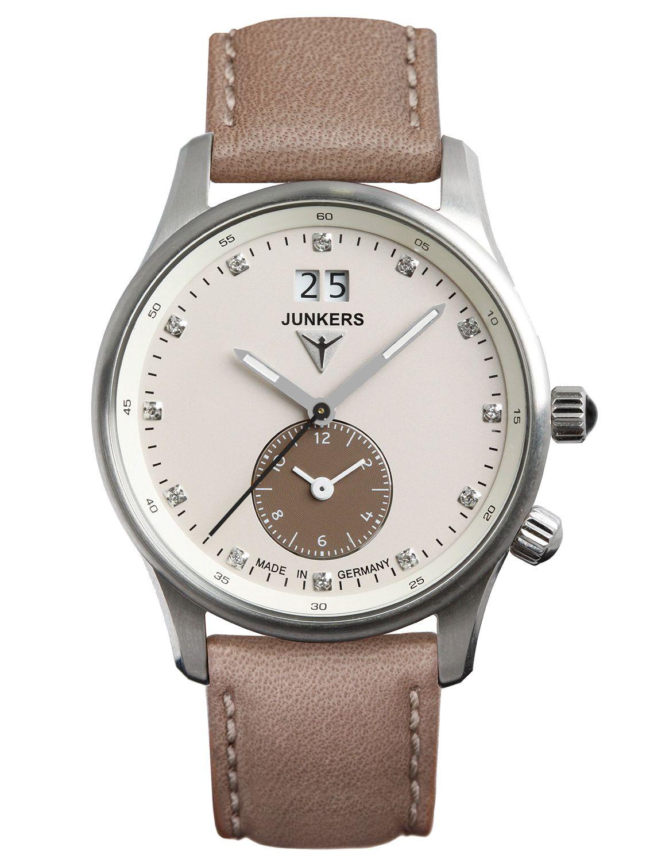 Junkers 6645-4 Iron Annie JU52 Dual Time Damenuhr