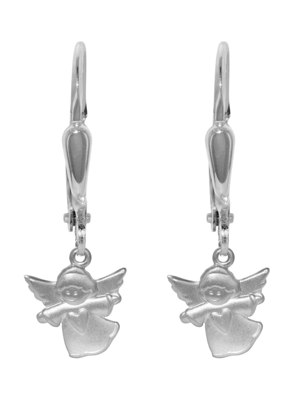 trendor 72702 Silber-Ohrringe Engel