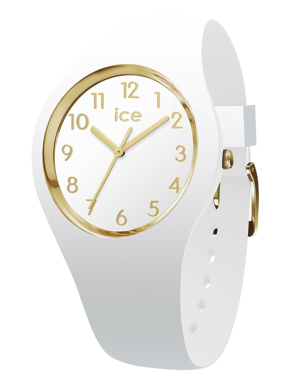 Ice-Watch 014759 Armbanduhr Ice Glam Weiß Gold S