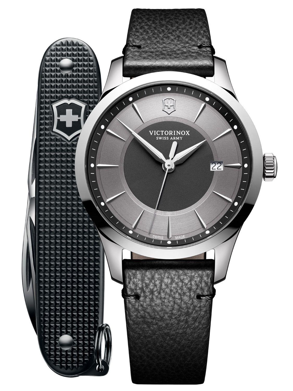 Victorinox 241804.1 Herrenarmbanduhr und Taschenmesser Alliance