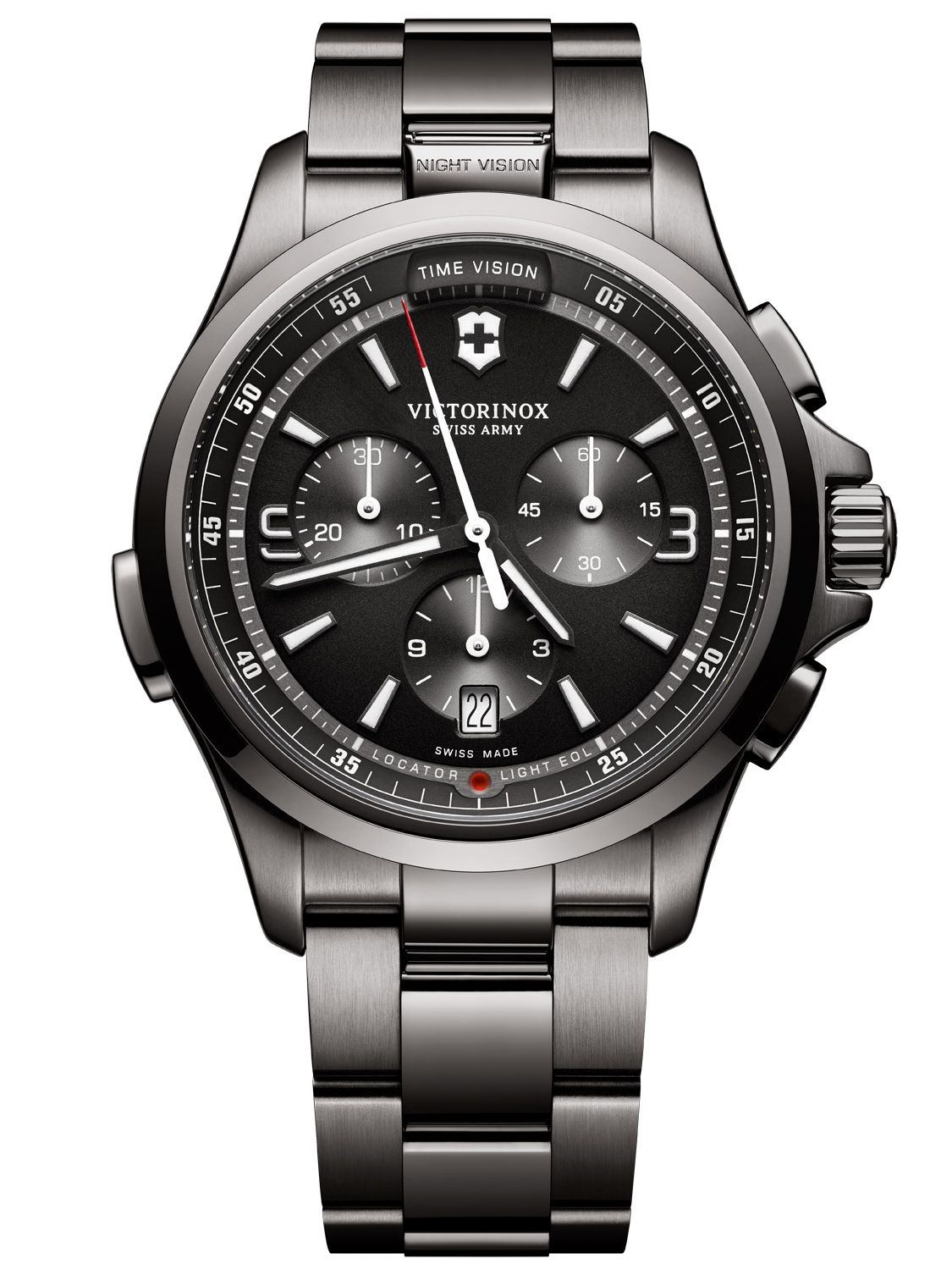Victorinox 241730 Night Vision Chronograph Herr...
