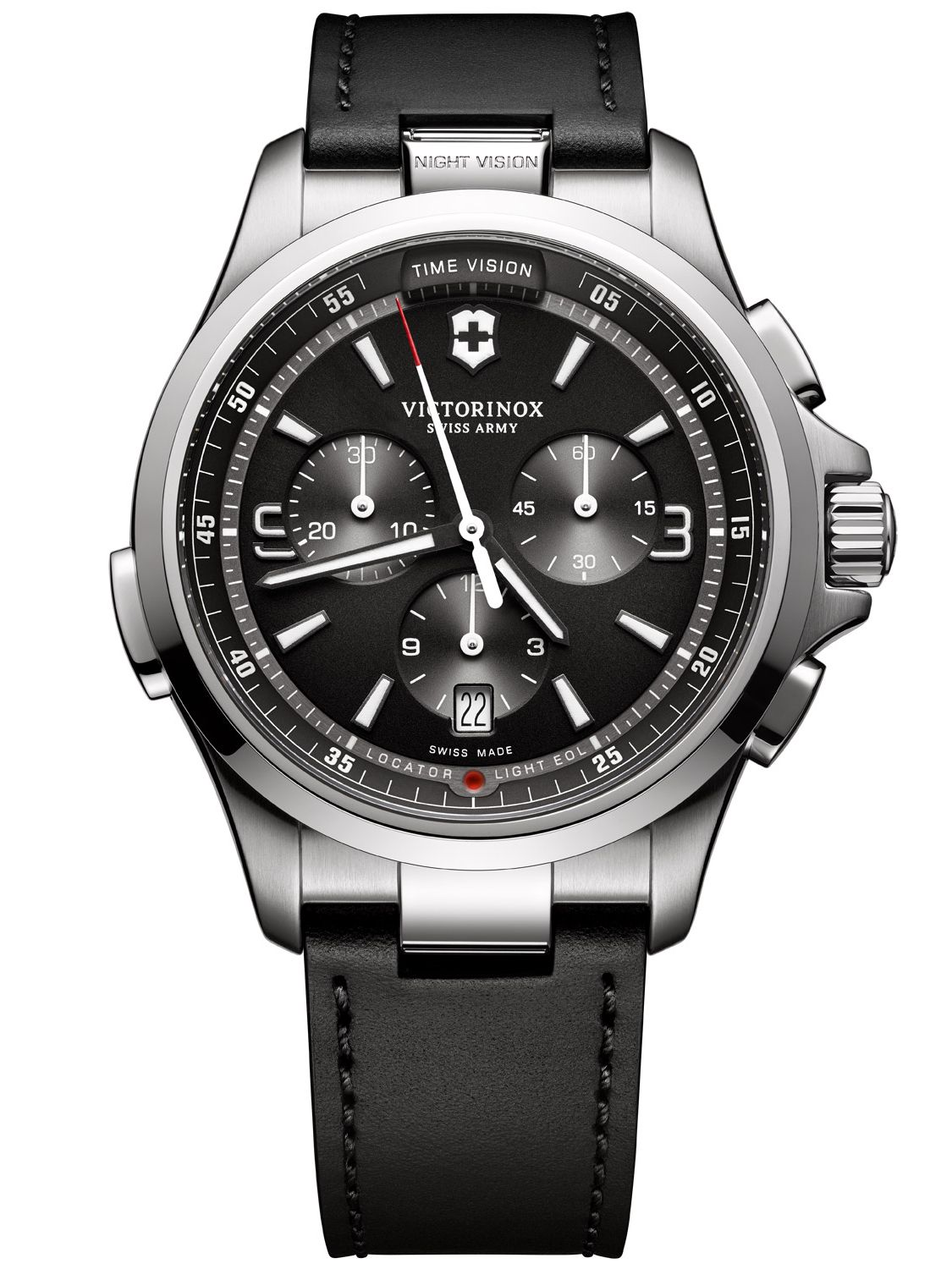 Victorinox 241785 Night Vision Chronograph Herr...