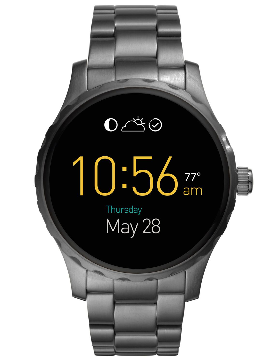 Fossil Q FTW2108 Smartwatch Marshal Touchscreen...