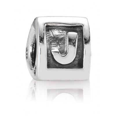 Pandora 790323J Buchstabe J Silber-Charm