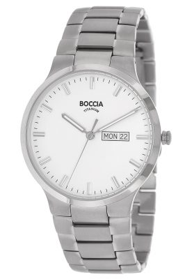 Boccia 3638-01 Titan Herrenuhr