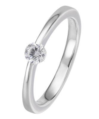 Viventy 775181 Verlobungsring Silber 925 Antragsring Zirkonia Damen-Ring