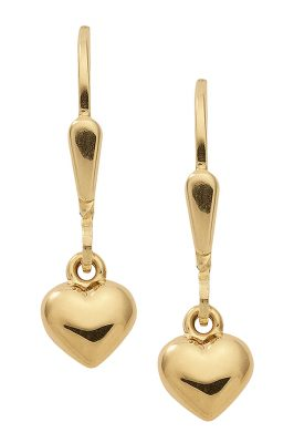 trendor 47330 Ohrringe Herzchen Gold 333