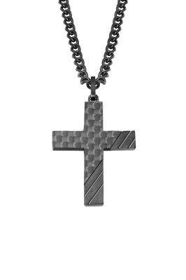 s.Oliver 2022635 Herrenkette mit Kreuz-Anhänger