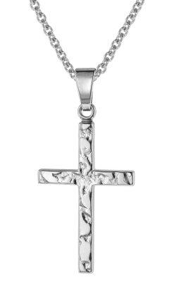 trendor 75013 Kreuz mit Halskette Silber 925
