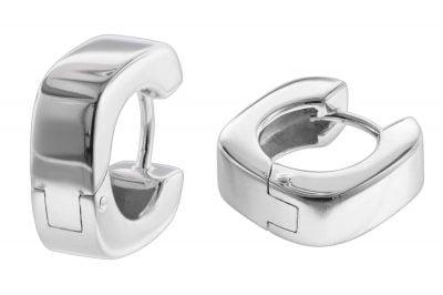 trendor 08765 Ohrringe Silber 15 mm