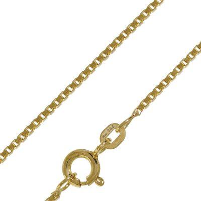 trendor 50927 Halskette für Damen und Herren 585 Gold (14 K) Venezianer Kette