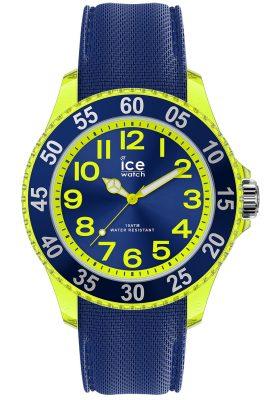 Ice-Watch 017734 Kinderuhr ICE cartoon Raumschiff Blau Gelb S