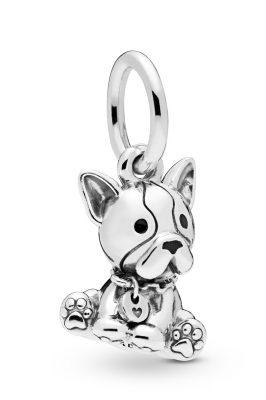 Pandora 798008EN16 Charm-Anhänger Bulldog Puppy