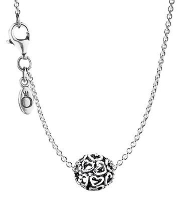 Pandora 79893 Damen-Halskette Hearty