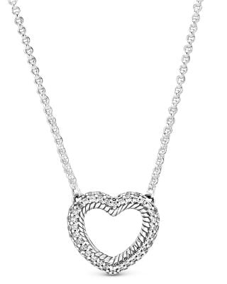 Pandora 399110C01-45 Damencollier Offenes Herz