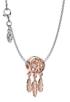 Pandora 39491 Damen-Halskette Traumfänger