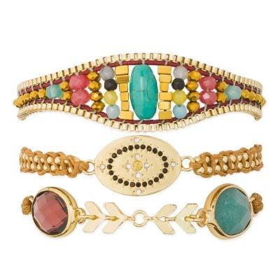 Hipanema H19MZELIRE Armband für Frauen Zelia-Link
