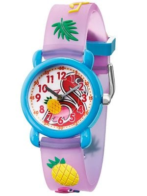 Herzengel HEWA-FLAMINGO Kinderuhr Flamingo Multicolor