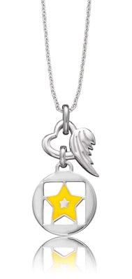 Herzengel HEN-03Shine Kinderkette Stern