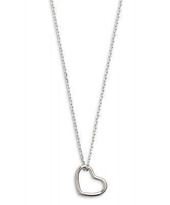 Xenox XS1756 Silber Damen-Halskette Heart Beat