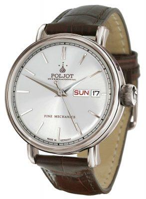 Poljot International 2427.1540991 Herrenarmbanduhr Automatik New Jaroslavl