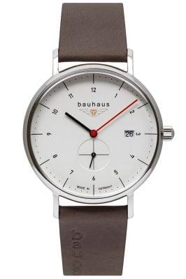 Bauhaus 2130-1 Herren-Armbanduhr Weiß
