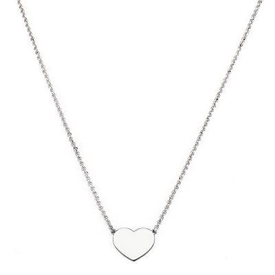 Amen CLHB3 Damen-Halskette Herz 925 Silber