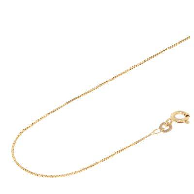 Acalee 10-2007 Halskette 333 Gold / 8 Karat Venezianer-Kette 0,7 mm