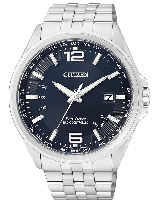 Citizen cb0010 88l eco drive global radio watch for Citizen eco dive