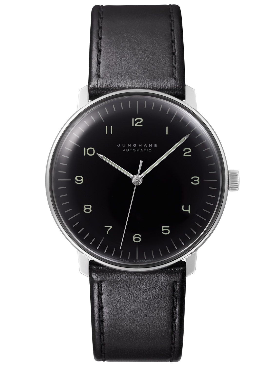 junghans 027 max bill automatic watch uhrcenter. Black Bedroom Furniture Sets. Home Design Ideas